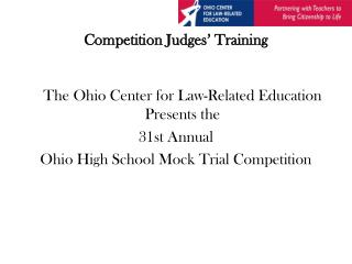 Competition Judges' Training