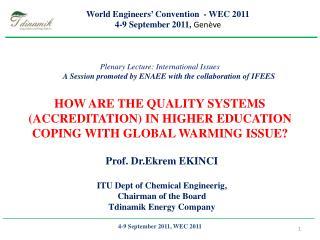 4-9 September 2011, WEC 2011