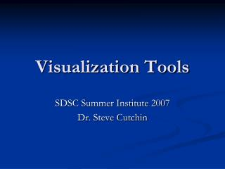 visualization tools