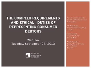 The Complex Requirements and Ethical 