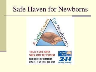 Safe Haven for Newborns