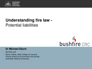Understanding fire law -  Potential liabilities