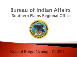 Ppt southern regional testing agency powerpoint for Bureau of indian affairs