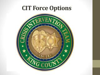 CIT Force Options