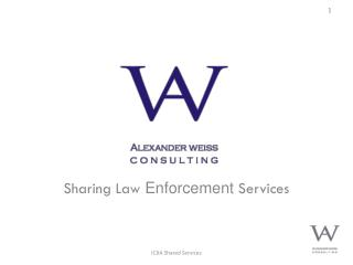 Sharing Law  Enforcement  Services