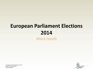 European Parliament Elections 2014