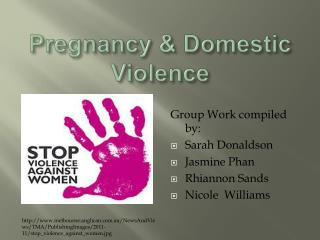 Pregnancy & Domestic Violence