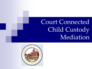Court Connected Child Custody Mediation