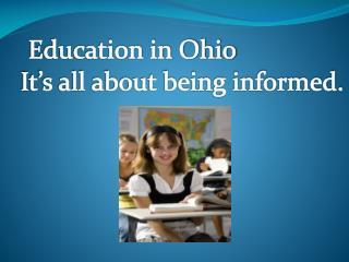 Education in Ohio