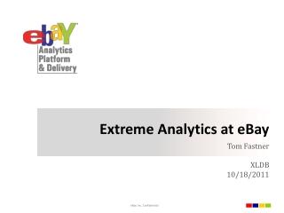 Extreme Analytics at eBay