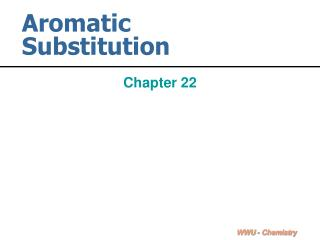 aromatic substitution