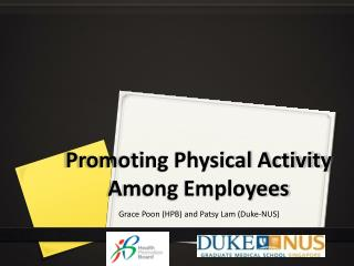 Promoting Physical Activity Among  E mployees