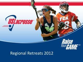 Regional Retreats 2012
