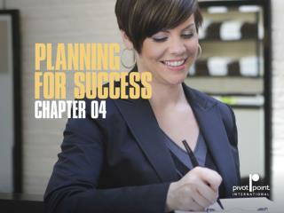 Chapter 4  planning for success
