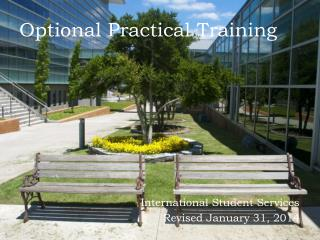 Optional Practical Training