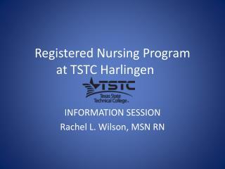 Registered Nursing Program at TSTC Harlingen