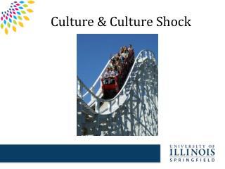 Culture & Culture Shock