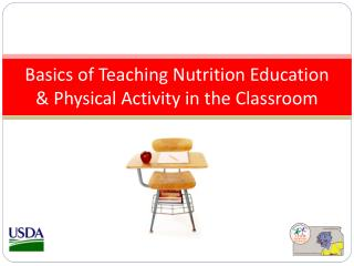 Basics of Teaching Nutrition Education & Physical Activity in the Classroom