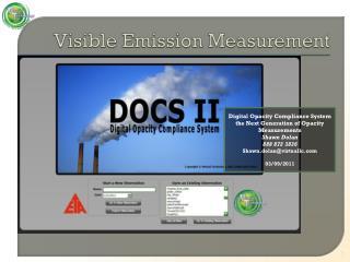Visible Emission Measurement