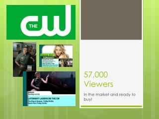 57,000 Viewers