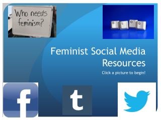 Feminist Social Media Resources
