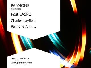 Post LASPO Charles Layfield Pannone  Affinity