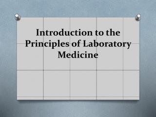 general laboratory technique