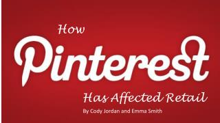 How Pinterest has affected Retail