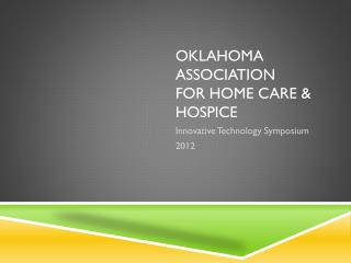 Oklahoma Association for Home Care & Hospice