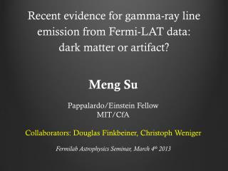 Recent evidence for gamma-ray line emission from Fermi-LAT  data:  dark matter or artifact?