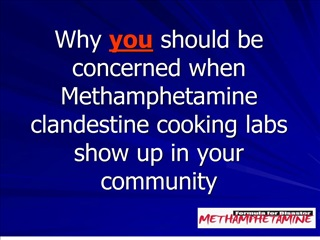 why you should be concerned when methamphetamine