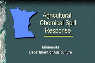 agricultural chemical spill response