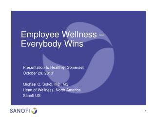 Employee Wellness – Everybody Wins