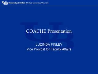 COACHE Presentation