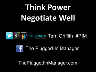 The Plugged -In Manager