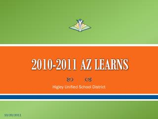 2010-2011 AZ LEARNS