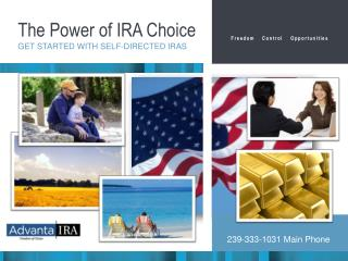 The Power of IRA Choice