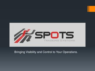 Bringing Visibility and Control to Your Operations.