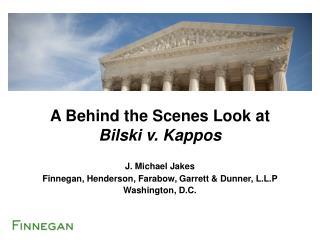 J. Michael Jakes Finnegan, Henderson, Farabow, Garrett & Dunner,  L.L.P Washington, D.C.
