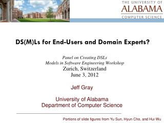 DS(M) Ls  for End-Users and Domain Experts?