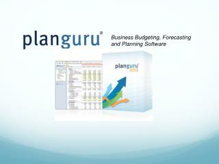 Business Budgeting, Forecasting and Planning Software