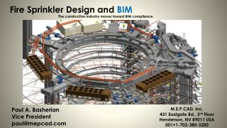 Fire Sprinkler Design and  BIM