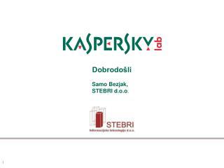Dobrodošli Samo Bezjak, STEBRI d.o.o .
