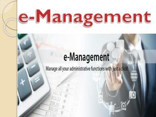 e- Management