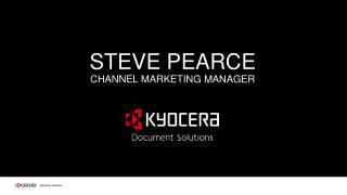 STEVE PEARCE CHANNEL MARKETING MANAGER
