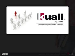 Kuali People Management for the Enterprise (KPME)