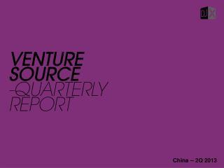 China -- 2Q 2013
