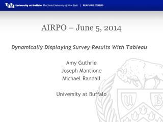 AIRPO – June 5, 2014