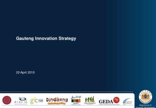 Gauteng Innovation Strategy