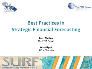Best Practices in  Strategic Financial Forecasting